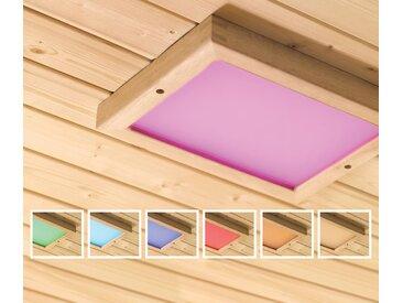 Karibu-Premium-LED-Farblichtanwendung für die Sauna - naturfarben - Tchibo
