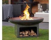 RedFire Fire-Pit »Juva Industrial« - Grau