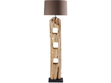 Stehlampe aus Holz H 170 cm ALPAGES