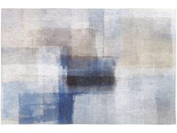 Mehrfarbiger Teppich mit Patchwork-Effekt 160x230