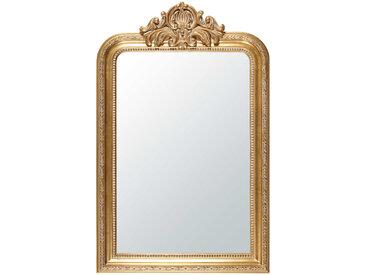 Spiegel mit goldfarbenen Zierleisten 77x120