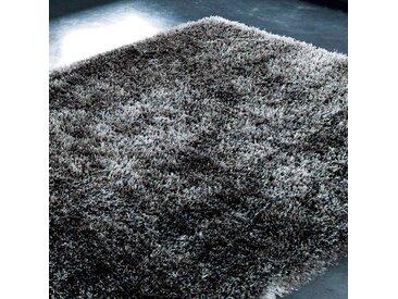 Langhaarteppich, anthrazitgrau, 140x200