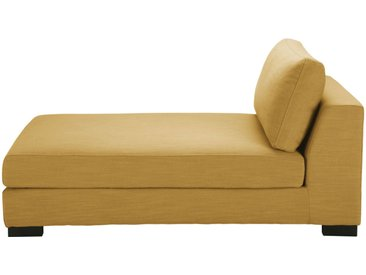 Chaiselongue, senfgelb Terence