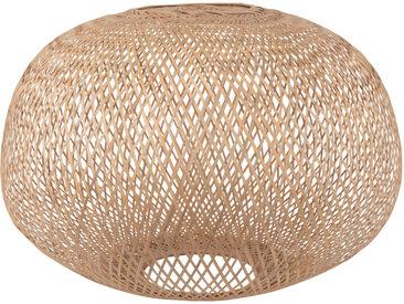 Lampenschirm für Hängelampe aus Rattangeflecht D60