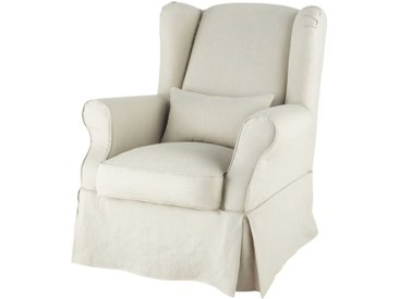 Sesselbezug aus Leinen  Cottage