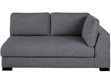 2-Sitzer-Sofamodul mit Armlehne rechts, dunkelgrau meliert Terence