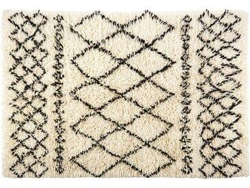 Berber-Teppich aus Wolle und Baumwolle 160x230