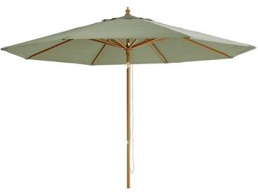 Verstellbarer Sonnenschirm aus Aluminium mit khakifarbenem Segeltuch Palma
