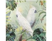Leinwand Papageien-Motiv 120x120
