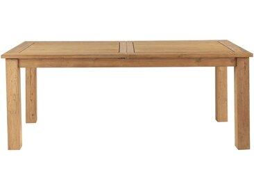 Ausziehbarer Gartentisch aus recyceltem Teakholz, L200 Cassiopee