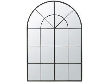 Spiegel mit schwarzem Metallrahmen 137x200