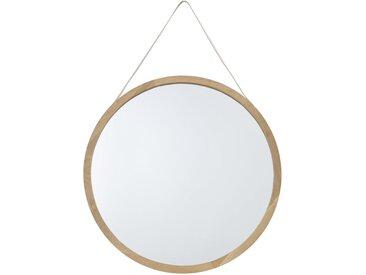 Spiegel mit Eichenholzrahmen D.80