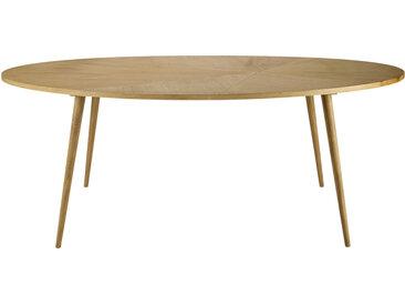 Ovale Esstisch, 8 Personen, L200 Origami