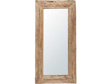 Spiegel aus recyceltem Teakholz 100x200