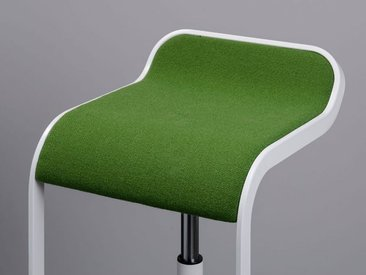 Barsitz Lem niedrig Lapalma grün, Designer Shin, Tomoko Azumi, 63-75x37x42 cm