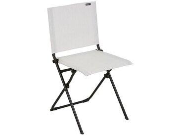 Sitz zum Zusammenklappen Anytime Lafuma weiß, 87x49x50 cm