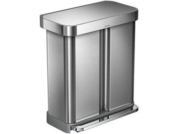 Tret-Abfallsammler, Designer simplehuman, 65.5x56x36 cm
