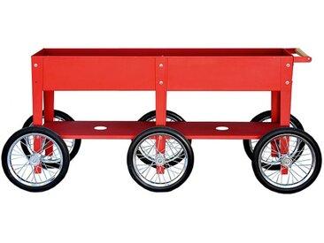 Garten-Trolley Wheels Herstera rot, Designer Herstera Garden, 80x150x35 cm