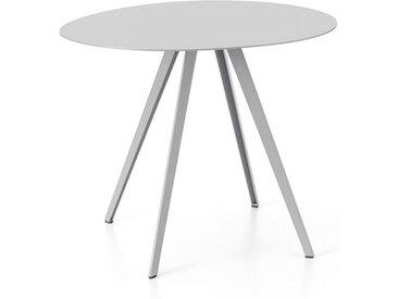 Beistell-Tisch Agorà Segis silber, Designer Cisotti & Laube, 40x49.5x43 cm