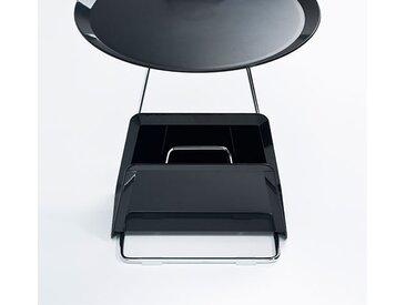 Zeitschriftenständer Maggy grau, Designer Designstudio speziell®, 20x35.5x17.7 cm