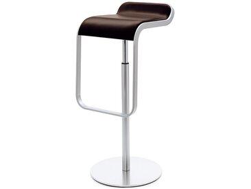 Barsitz Lem niedrig Lapalma braun, Designer Shin, Tomoko Azumi, 63-75x37x42 cm