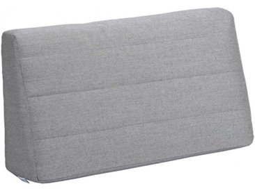 Rückenkissen für Holly Dining-Bank – keilförmig grau, 40x75x20 cm
