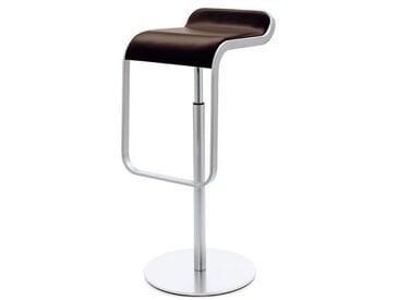Barsitz Lem Lapalma braun, Designer Shin, Tomoko Azumi, 74-87x37x42 cm