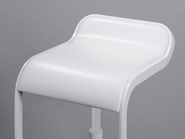 Barsitz Lem Lapalma weiß, Designer Shin, Tomoko Azumi, 74-87x37x42 cm
