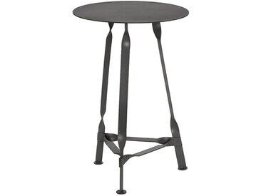 Beistelltisch Twist Petit Functionals schwarz, Designer Thomas Schnur, 60x40x40 cm