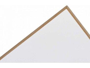 Tisch-Platte Eiermann Richard Lampert weiß, Designer Prof. Egon Eiermann, 2.8x180x90 cm