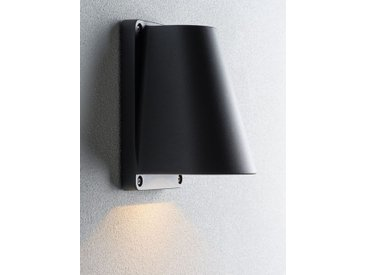 LED-Außenwandleuchte Boss grau, 15.5x10x11 cm