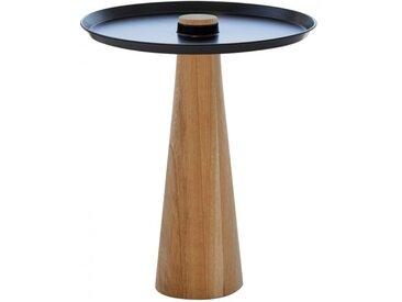 Beistell-Tisch W-Move Table Wagner schwarz, Designer Joel Hoff, 50 cm