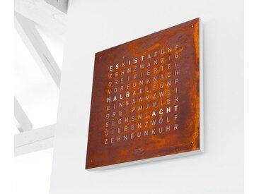 Wand-Uhr Qlocktwo Creator's Edition QLOCKTWO, Designer Biegert & Funk, 45x45x4.5 cm