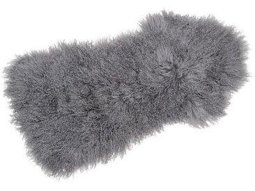 Tibetlammfell grau, Designer Thomas Albrecht, 3x110x50 cm