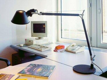 Tischleuchte Tolomeo Tavolo Artemide schwarz, Designer de Lucchi & Fassina, 123 cm