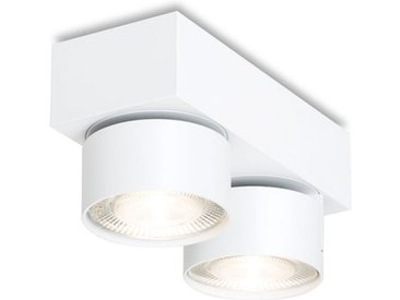 LED-Deckenaufbauleuchte Wittenberg 4.0 Mawa Design weiß, Designer Jan Dinnebier, 9.4x18.3x7.7 cm