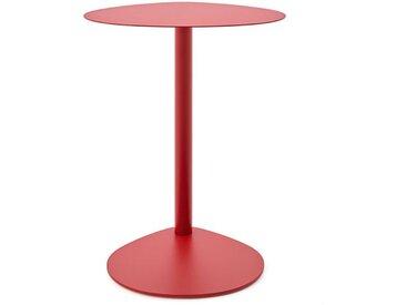 Beistelltisch Easy Boy Segis rot, Designer Bartoli Design, 62x45x42 cm