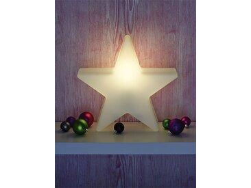 Außenlampe Shining Star Mini 8 seasons design weiß, Designer 8 seasons design GmbH, 36x38x10 cm
