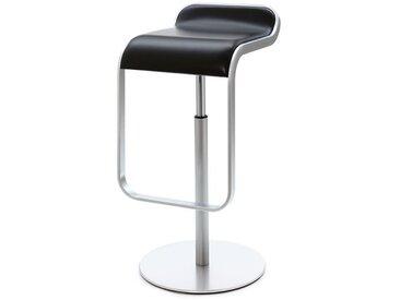 Barsitz Lem niedrig Lapalma schwarz, Designer Shin, Tomoko Azumi, 63-75x37x42 cm