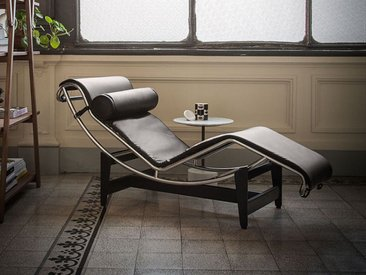 Cassina Cassina LC4 Liege grau, Designer Le Corbusier, 56.4 cm