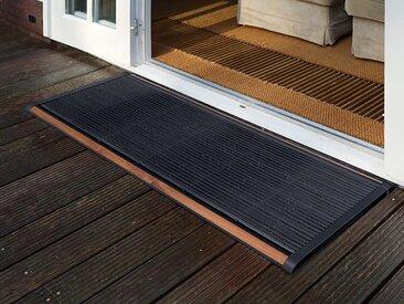 Outdoor-Fussmatte New Standard RiZZ grau, Designer Trudie Zuiddam/WELL design, 2.2x175x70 cm