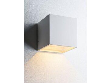 LED-Wand-Spot Cube XL Down Light Point weiß, Designer Ronni Gol, 15x15x15 cm