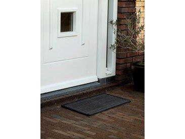 Outdoor Fußmatte door-line RiZZ grau, Designer Teun Fleskens, 2.2x58x36 cm