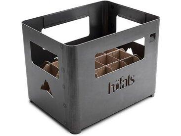 Feuerschale Beer Box höfats, Designer Thomas Kaiser, Christian Wassermann, 30x38x28 cm