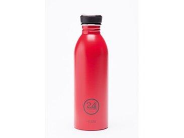 Trinkflasche Urban Bottle rot, Designer 24Bottles Design Bologna, 21 cm