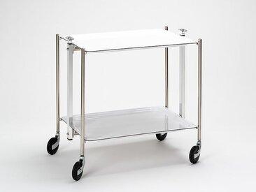 Küchenwagen Textable weiß, Designer Platex, 68x62x44 cm
