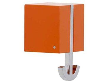 pieperconcept Wandhaken Ancora orange, Designer Murken & Hansen, 6.3x6.3x5.3 cm