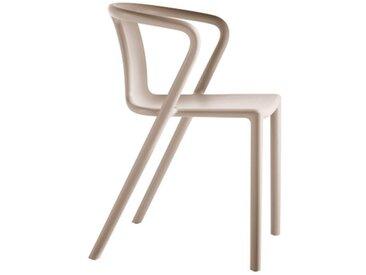 Stapelstuhl Air Magis beige, Designer Jasper Morrison, 77.5x53x50.5 cm