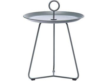Beistell-Tisch Eyelet Houe grau, Designer Henrik Pedersen, 45.5 cm
