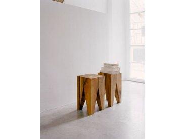 Schemel/Beistelltisch Backenzahn E15, Designer Philipp Mainzer, 47x27x27 cm